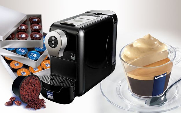 Un delicioso café con lavazza cápsulas