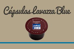 Cápsula café lavazza blue