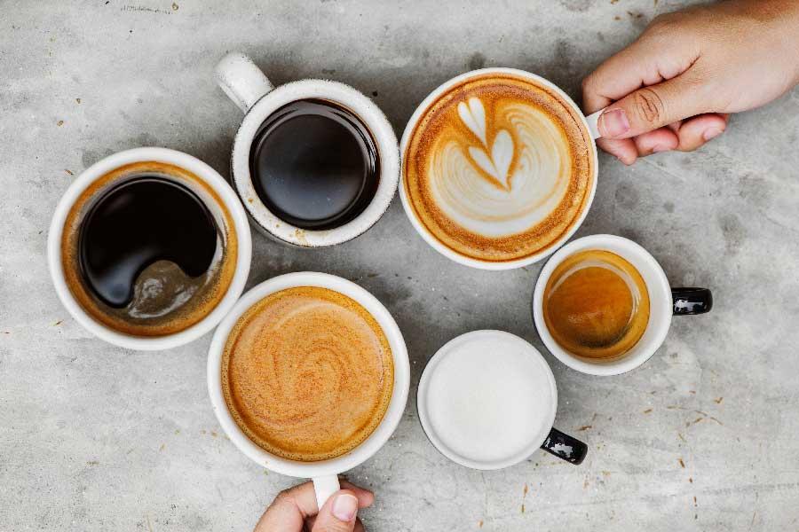 tipos café con leche